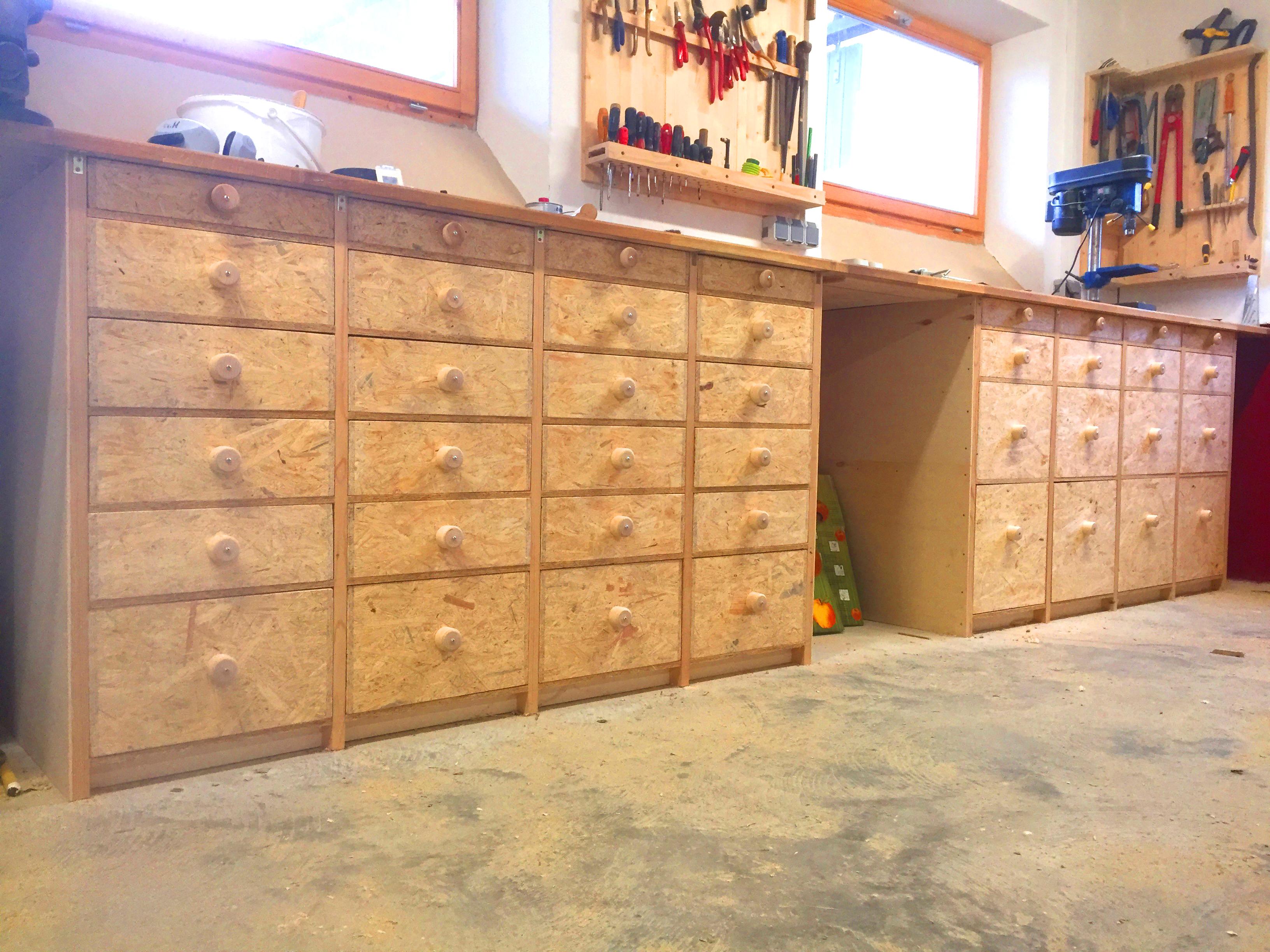 Werkstatt Schubladen Schrank | dahoia